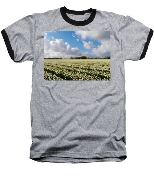 White Field Baseball T-Shirt