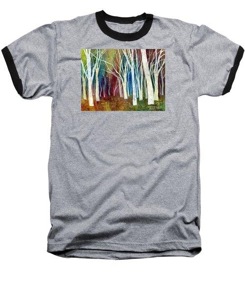 White Forest I Baseball T-Shirt