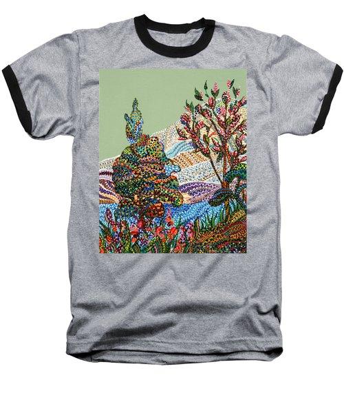 White Hills Baseball T-Shirt by Erika Pochybova