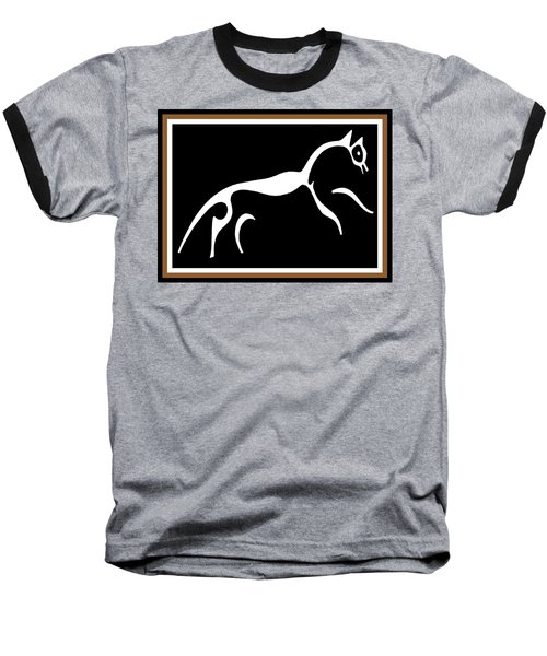 White Horse Of Uffington Baseball T-Shirt