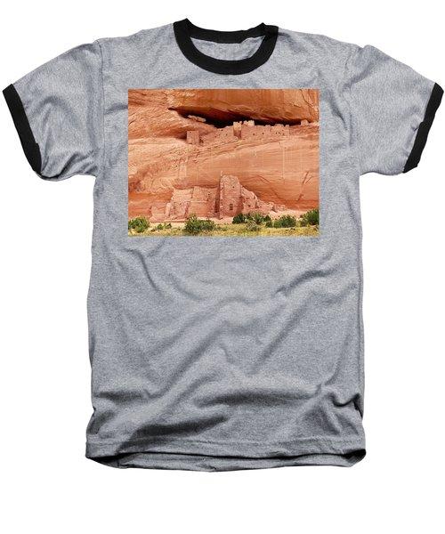 White House Ruins Canyon De Chelly Baseball T-Shirt
