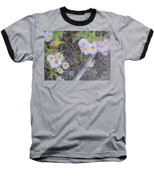 Baseball T-Shirt featuring the photograph White In The Wild by Fortunate Findings Shirley Dickerson