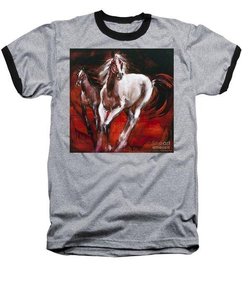 White Knight Baseball T-Shirt