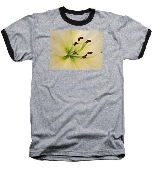 White Lily Pp-6 Baseball T-Shirt