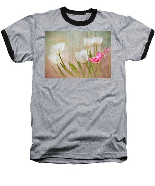 White Lily Show Baseball T-Shirt