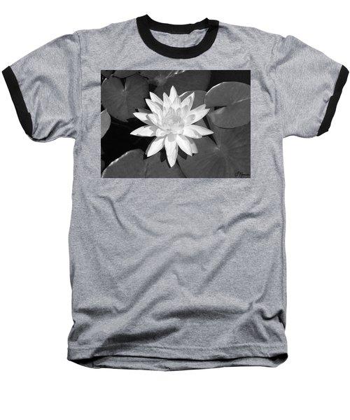 White Lotus 2 Baseball T-Shirt by Ellen Henneke