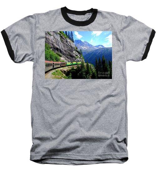 White Pass And Yukon Route Railway In Canada Baseball T-Shirt