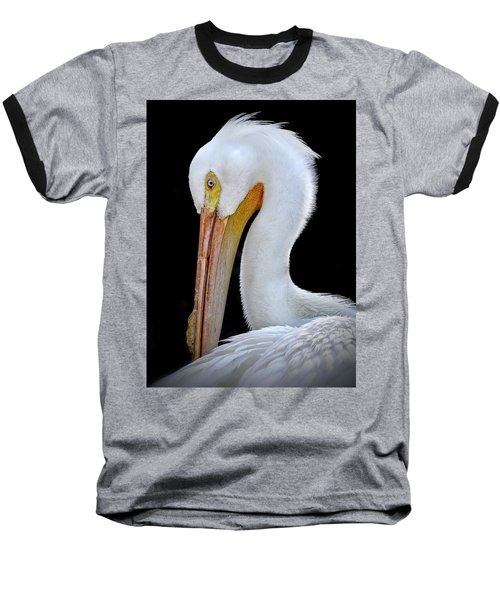 White Pelican Baseball T-Shirt