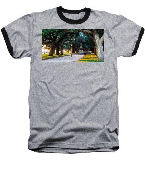 White Point Garden Walkway Charleston Sc Baseball T-Shirt