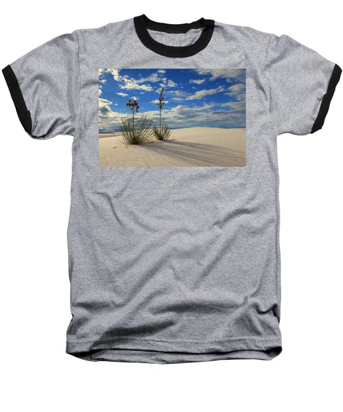 White Sands Afternoon 2 Baseball T-Shirt