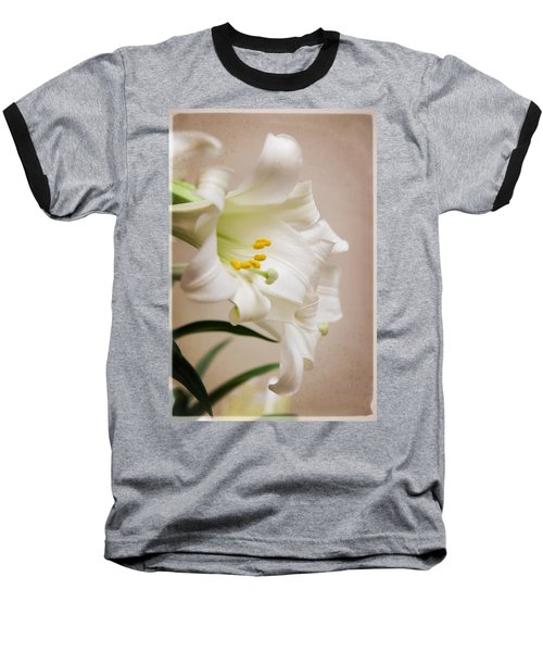 White Softness Baseball T-Shirt