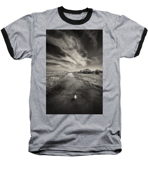 White Swan Baseball T-Shirt