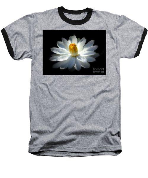 White Water Lily Baseball T-Shirt