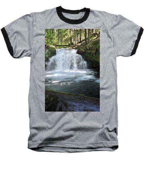 Whitehorse Falls Series 9 Baseball T-Shirt