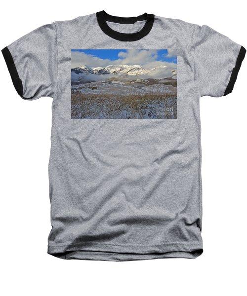 Whiterock Winter Mist Baseball T-Shirt