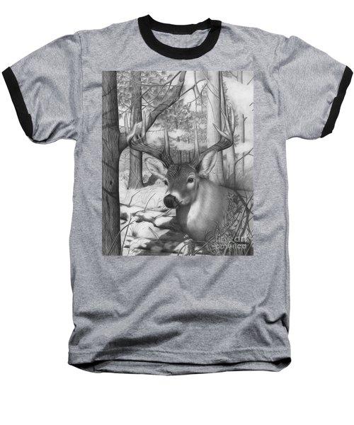 Whitetail Phantom Baseball T-Shirt