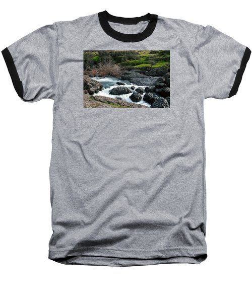 Whitewater At Bear Hole Baseball T-Shirt