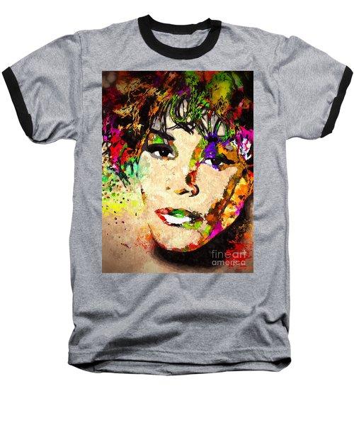 Whitney Houston Baseball T-Shirt