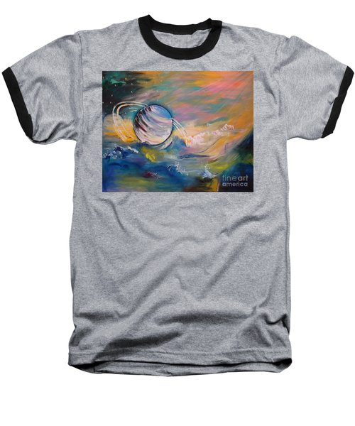 Who But You Could Leave A Trail Of Galaxies Baseball T-Shirt