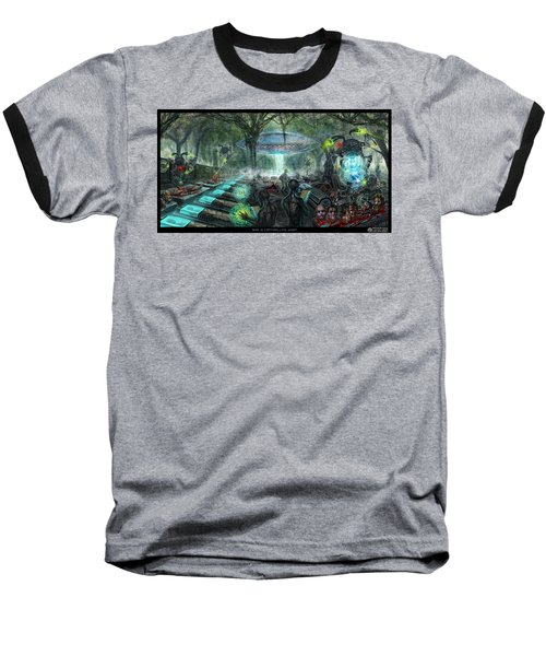 Who Is Controlling Who Baseball T-Shirt