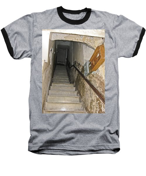 Baseball T-Shirt featuring the photograph Who Lives Here? by Allen Sheffield