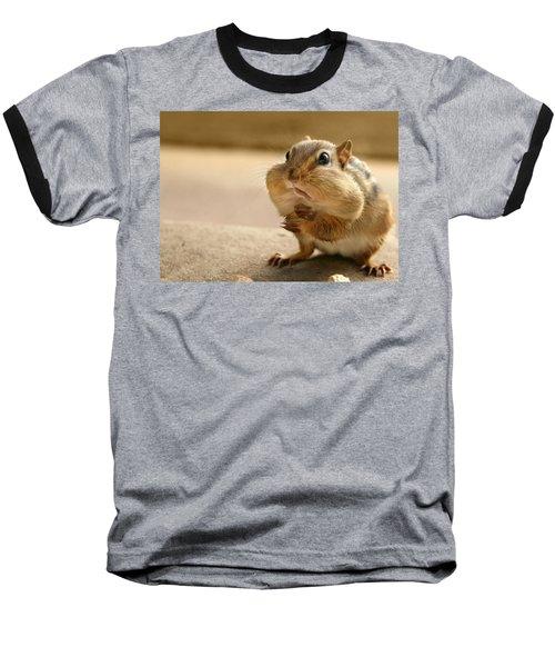 Who Me Baseball T-Shirt by Lori Deiter