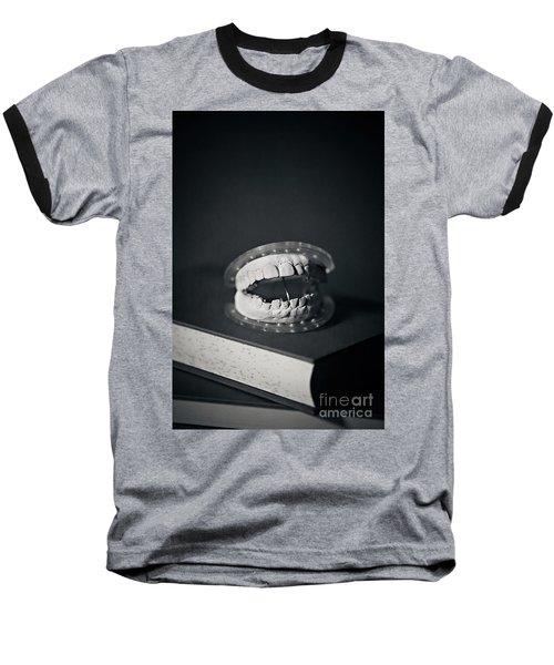 Baseball T-Shirt featuring the photograph Whose Teeth Are These? by Trish Mistric