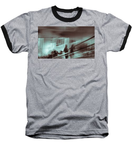 Baseball T-Shirt featuring the photograph Why Walk When You Can Ride by Alex Lapidus