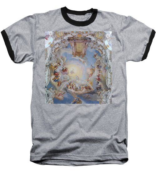 Wies Pilgrimage Church Bavaria Fresko Baseball T-Shirt