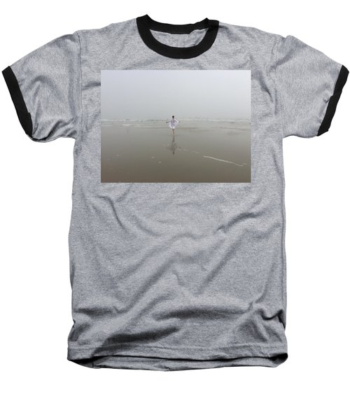 Wilbur By The Sea 1 Baseball T-Shirt