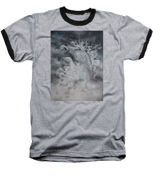 Baseball T-Shirt featuring the painting Wild And Free by Jean Walker