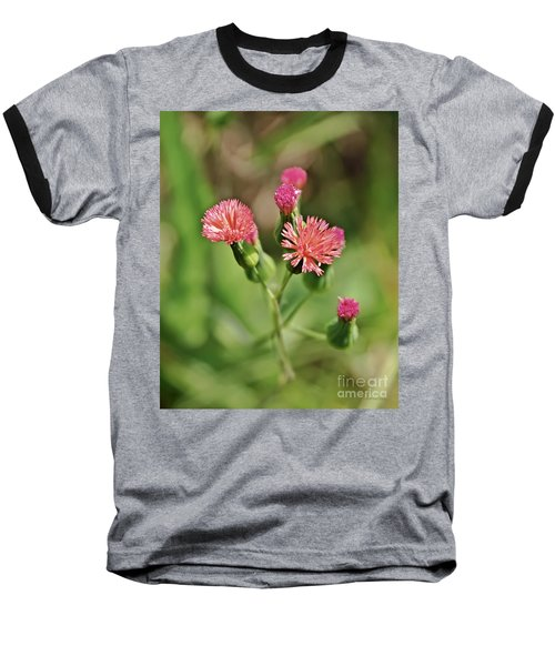 Baseball T-Shirt featuring the photograph Wild Flower by Olga Hamilton