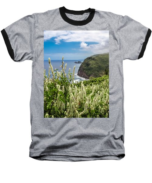 Wild Flowers At Pololu Baseball T-Shirt