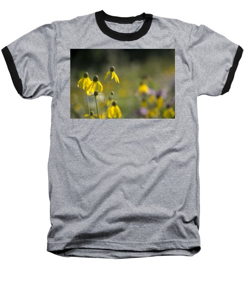 Wild Flowers Baseball T-Shirt