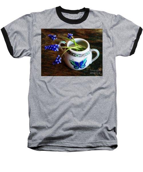 Wild Flowers In Sugar Bowl Baseball T-Shirt