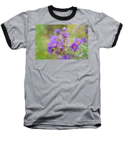 Wild Flowers In The Fall Baseball T-Shirt