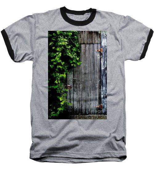 Wild Grape Vine Door Baseball T-Shirt