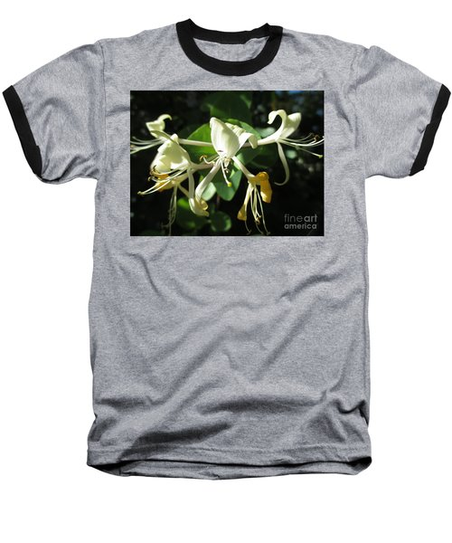 Wild Honeysuckle Baseball T-Shirt