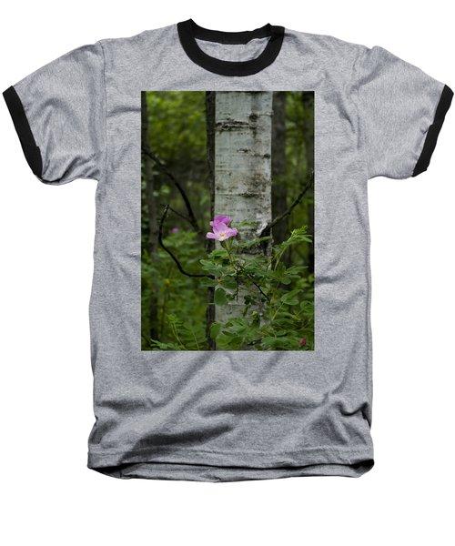 Wild Rose Baseball T-Shirt