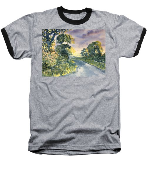 Wild Roses On The Wolds Baseball T-Shirt