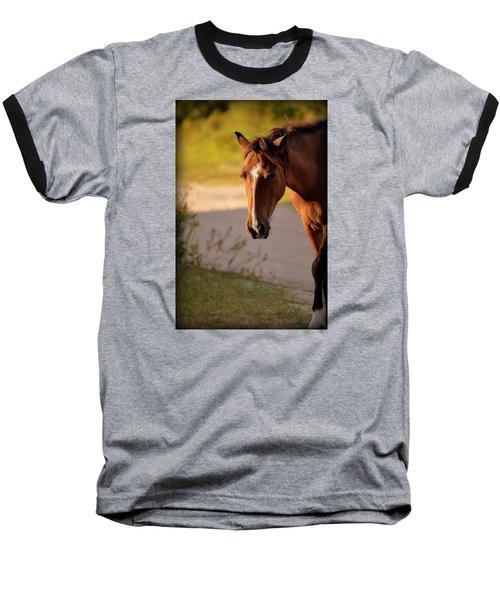 Baseball T-Shirt featuring the photograph Wild Shadows by Amanda Vouglas