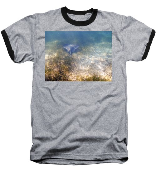 Baseball T-Shirt featuring the photograph Wild Sting Ray by Eti Reid