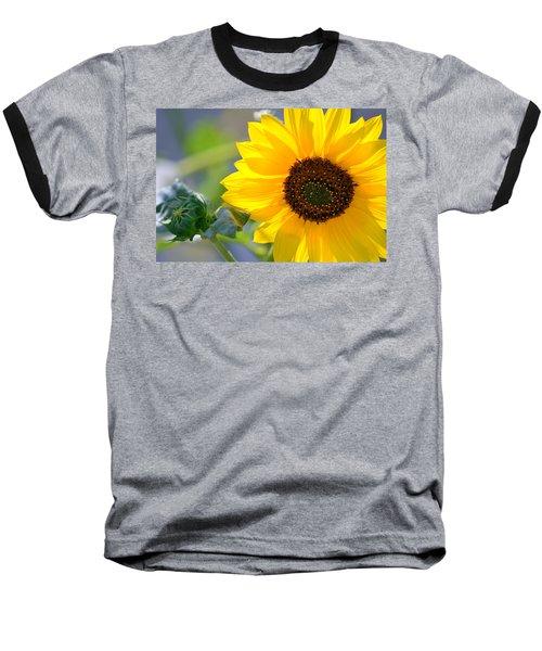 Wild Sunflower Baseball T-Shirt