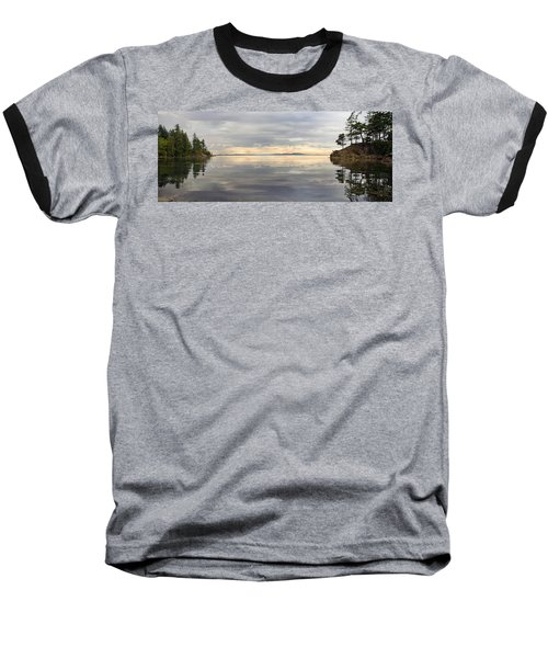 Baseball T-Shirt featuring the photograph Wildcat Cove Along Chuckanut Drive In Washington by JPLDesigns