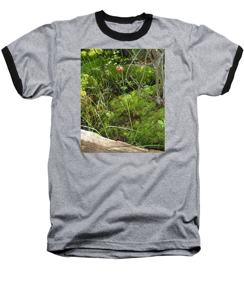 Baseball T-Shirt featuring the photograph Wildflower 1 by Robert Nickologianis