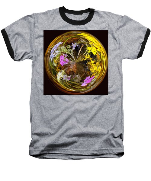 Baseball T-Shirt featuring the photograph Wildflower Paperweight by Gary Holmes