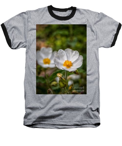 Wildflower Poppin Baseball T-Shirt