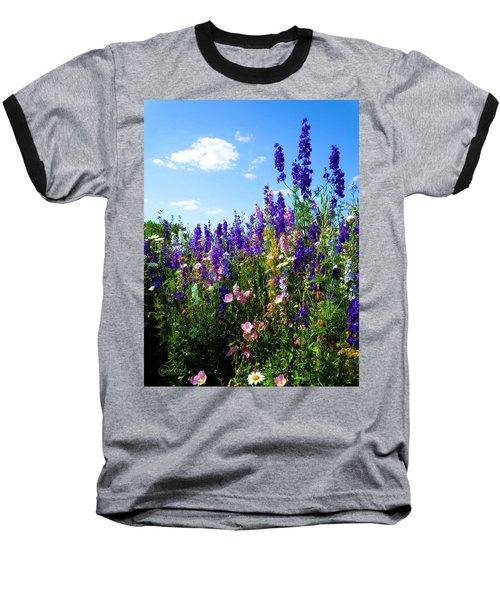 Wildflowers #9 Baseball T-Shirt by Robert ONeil