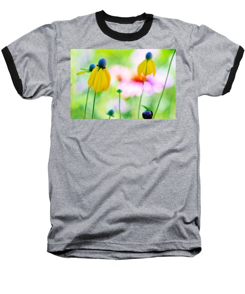 Wildflowers Baseball T-Shirt