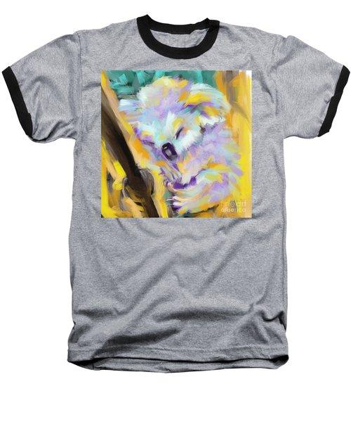 Wildlife Cuddle Koala Baseball T-Shirt